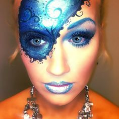 Halloween Masquerade Makeup