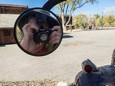 #Selfie in a side view mirror. #explorediscovershare #olympus #olympusomd #getolympus #mirrorlesscamera #mirrorless #odgen #utah #utahphotographer #pablostrongreflection #rust #Flickr #picoftheday