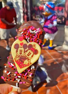 Don't let the Disneyland closure affect your romance. You can also kindle that spark at Downtown Disney, whether it's Valentine's Day or any day of the year. #disneyland #downtowndisney #valentinesday #disneyfood