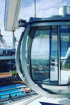 360 degree views from 300 feet above Anthem of the Seas. Watch the ship leave port or watch the sun set. Whatever you choose, the unparalleled views will take your breath away.