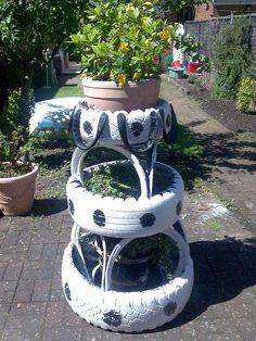 BricoBlog | 1000 ideas para reciclar neumáticos – II | https://www.bricoblog.eu