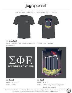 Sigma Phi Epsilon Founders Day Shirt   Fraternity Founders Day   Greek Founders Day #sigmaphiepsilon #sigep #sfe #spe #founderday #building #memphis #clarktower #flag
