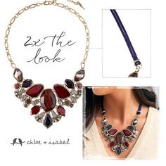 Change up your look with our latest convertible statement-maker – available now on my c+i boutique at https://www.chloeandisabel.com/boutique/nancynicol