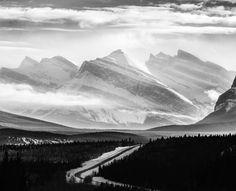 nordegg road. white goat wilderness. alberta. by Tanner Wendell Stewart #xemtvhay