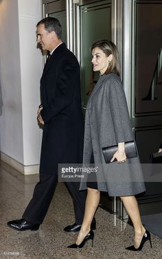 King Felipe of Spain and Queen Letizia of Spain attend tribute concert 'In Memoriam' for terrorism victims on March 10, 2016 in Madrid, Spain.