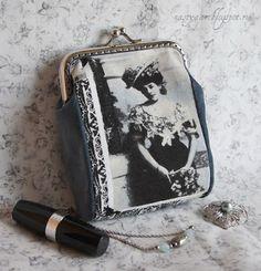 Рукодельное мое.: Маленькая сумочка, схема выкройки и пара приемов д...