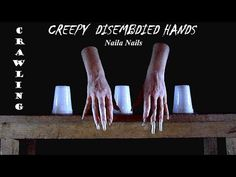 """Creepy hands pretending to be """"magicians"""" - DISEMBODIED HANDS"""