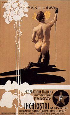 Early 1900s Posters by Trieste-born Italian Marcello Dudovich - Google Search