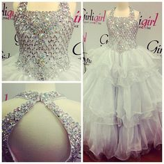 We Got This Dress First So Dont Miss Your Change To Get This Beautiful Little Girls Pageant Gown