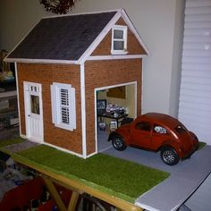 1000 images about my mini creations on pinterest for Garage mini 77