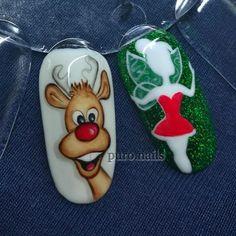 Christmas is over but... where is Rudolph now??? ;) PROnail 555 #relax #evening #hybrydnails #hybryda #hybrydypronail #nailart #nailsoftheday #nails #nailartist #paznokcie #paznokciehybrydowe #piękne #christmasnails #christmas #woman #polishgirl #finishgirl #hobby #instanails #dlugiepaznokcie #instanails #nailsinspiration  #finnishgirl #kynsi #järvenpää #hobby #prettynails #ihanakynsilakka #kynnet #bedtime #rudolphnails
