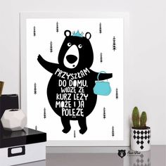 Original posters for your home ❤ autor SzastiPrast Motto, Photo Booth, Sweet Home, Poster, Girly, Positivity, Writing, Humor, Drawings