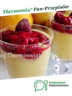 DESER MANGO Z MALINAMI jest to przepis stworzony przez użytkownika mojThermoswiat. Ten przepis na Thermomix® znajdziesz w kategorii Desery na www.przepisownia.pl, społeczności Thermomix®.