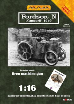 """Fordson N """"Campbell"""" 1:16"""