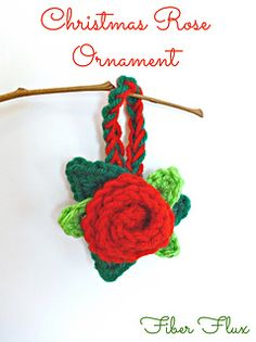 This easy ornament makes a lovely addition to a tree or gift!