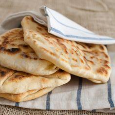 Pane naan al formaggio-Ricetta indiana
