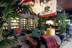 Hollister style decor ~ how I want the man cave to feel