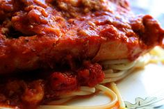 Chicken parmesan is one of my favorite Italian dishes, and it tastes superb out of the slow-cooker! Take a gander at this recipe and give it a try!