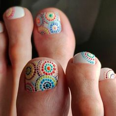 Nail Designs for Toes That Will Make You Feel Zen ★ See more: https://naildesignsjournal.com/nail-designs-for-toes/ #nails #beautynails