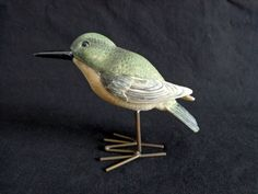 Cute bird figurine from #SassyDuckFinds