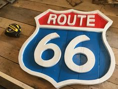 Route 66 wooden sign x Great piece for the Rustic Car lover. Route 66 Sign, Recycled Wood, Wooden Signs, Wood Art, Rustic, Car, Gift, Wooden Plaques, Country Primitive