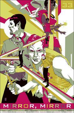 Star Trek Poster by Mondo - Mirror, Mirror