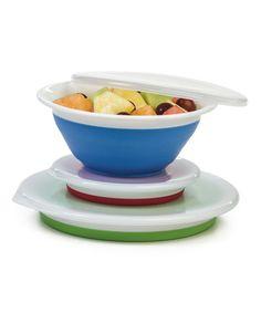 Look what I found on #zulily! Collapsible Storage Bowl Set by Progressive #zulilyfinds