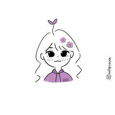Cute Kawaii Drawings, Kawaii Doodles, Cute Doodles, Kawaii Art, Cute Cartoon Characters, Cartoon Art Styles, Cute Art Styles, Cute Drawlings, Illustration Art Drawing
