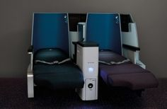 KLM Royal Dutch Airlines unveil new full-flat seat interior with their new World Business Class cabin
