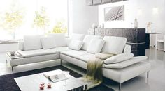 sofa nancy, de 5 asientos cuero italiano nuovo design muebles
