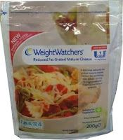 Weight Watchers Reduced Fat Grated Mature Cheddar Cheese