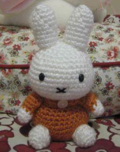 Conejita Miffy – Patrón a crochet – Hasta el Monyo