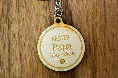 Schlüsselanhänger Bester Papa | | GUFRU  #vatertag #vatertag2020 #vatertaggeschenk #geschenkideen Opus, Personalized Items