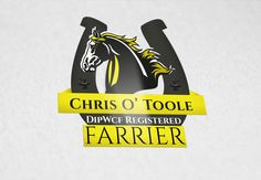 Design for Farrier Best Logo Design, Graphic Design, Cool Logo, Logos, Logo