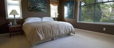 GranvilleBB.com Alder Master Suite. Granville Street, Master Suite, Double Sinks, Bed, House, Vancouver, Duvet, Furniture, Sofa