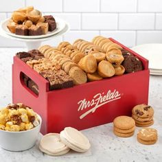 Mrs. Fields® Classic Cookie Gift Box.  See more at www.pro-gift-baskets.com!