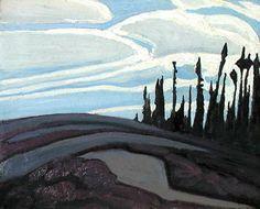 Above Lake Superior c.1922 Lawren Harris
