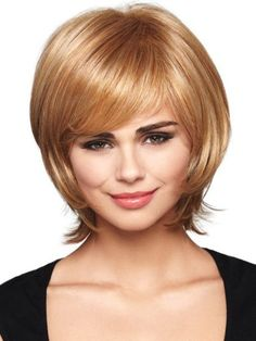 simple Medium Length Hairstyles for Round Faces