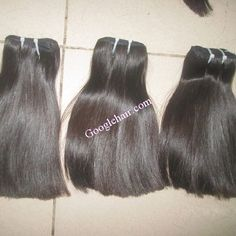 Vietnamese Human Hair Extensions With Natural Straight Hair Thin Hair