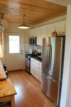 480 Sq. Ft. cabin with gourmet kitchen <3