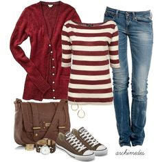 Take a look at the following images and get inspiration for your own casual fall outfits with converse shoes. Oh, and you should totally save them to your pinterest boards for reference! - Page 5