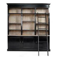 98 best bookshelves with library ladder images bookshelves diy rh pinterest com