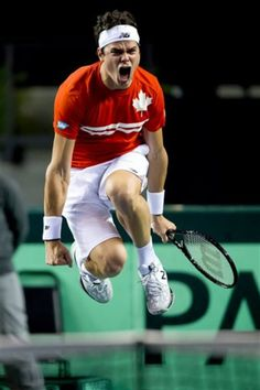 Milos Raonic - 2013 Davis Cup Quarterfinal. Vancouver, British Columbia, Canada
