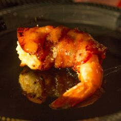 Nibble Me This: Grilled Bacon Wrapped Stuffed Shrimp