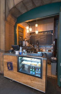 Two Penny Blue. Hole in the wall cafe. Pitt st CBD Sydney. Designed by Creative Differences Studio