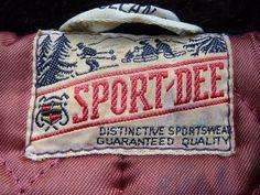 Vintage Clothing Label MY NAME