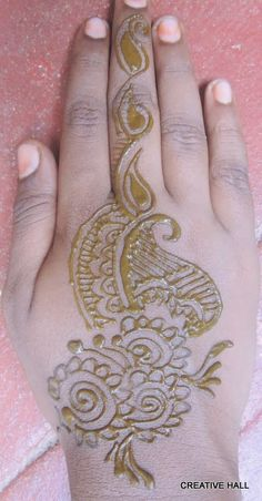 Mehendi for my neighboring girls