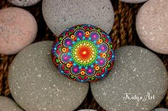 Hey, I found this really awesome Etsy listing at https://www.etsy.com/listing/603498303/25x24-inch-hand-painted-mandala-on-river