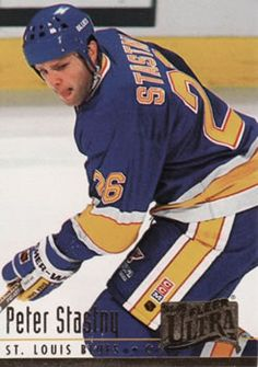Peter Statsny as a Blue 1993-1994