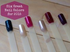 6 Great Nail Polish Shades for 2015 - Style on MainStyle on Main